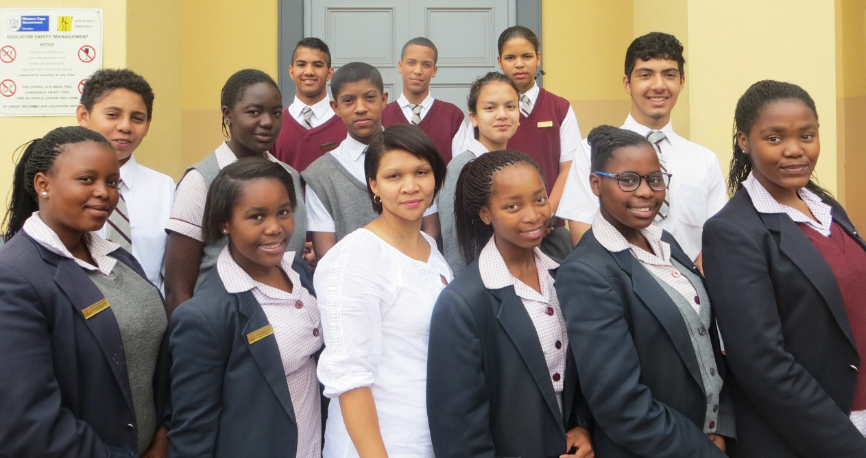 Harold Cressy High School - Representative Council of Learners (RCL) 2014